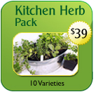 Non-Hybrid Kitchen Herb Pack