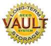 Heirloom Organics VAULT Method for Long-Term Storage